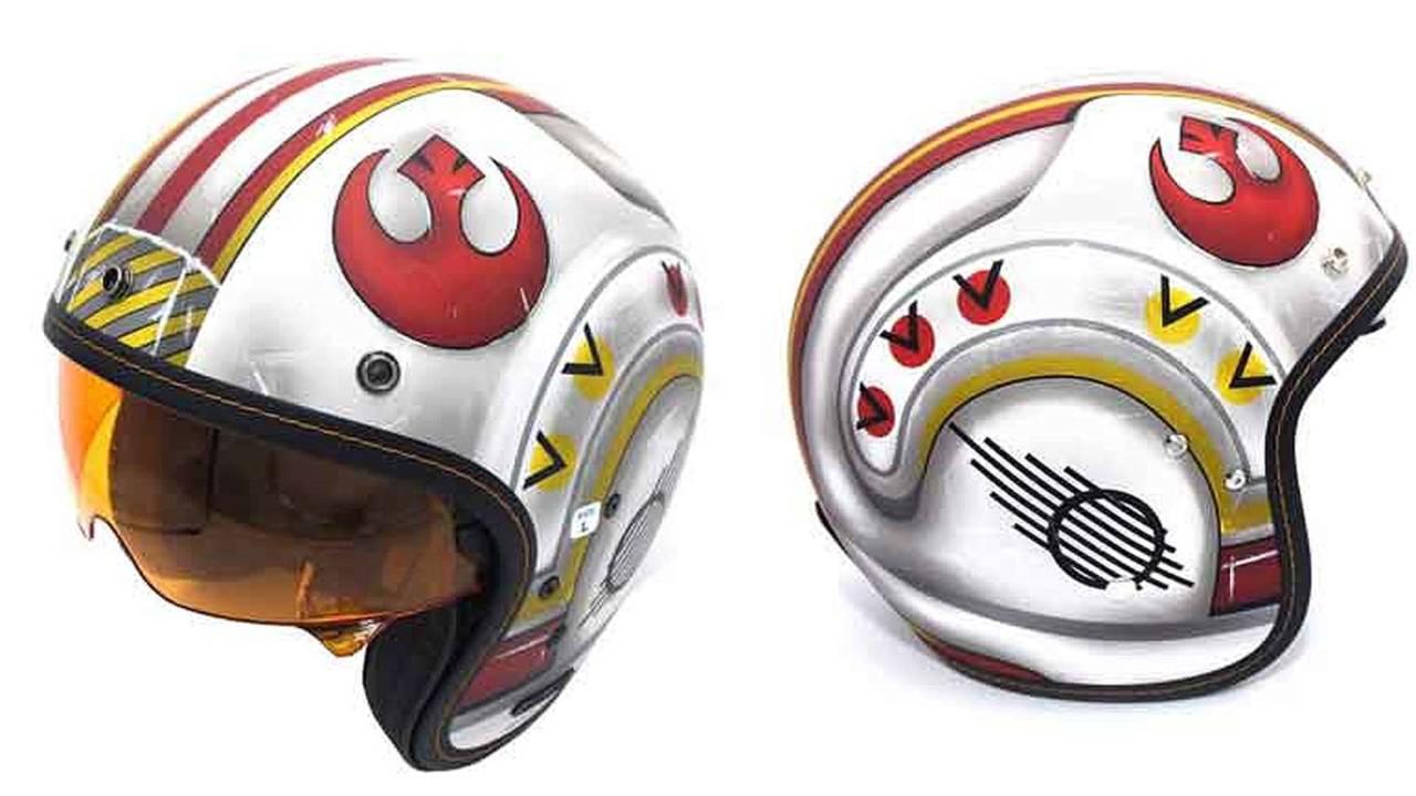 HJC Reveals Luke Skywalker Helmet