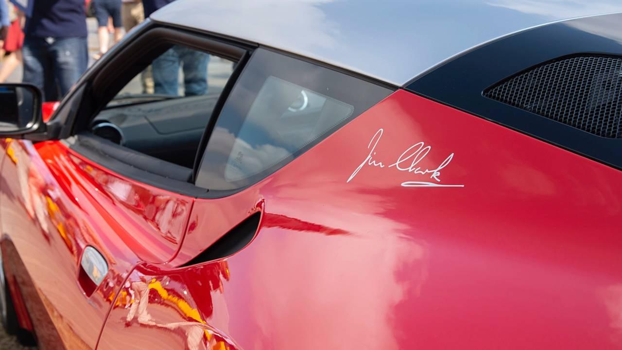 Jim Clark adına üretilmiş 100.000'inci Lotus