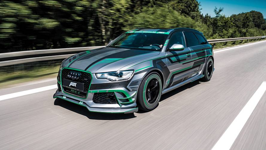 ABT Audi RS6-E Is A 1018-HP Hyper Hybrid Hauler