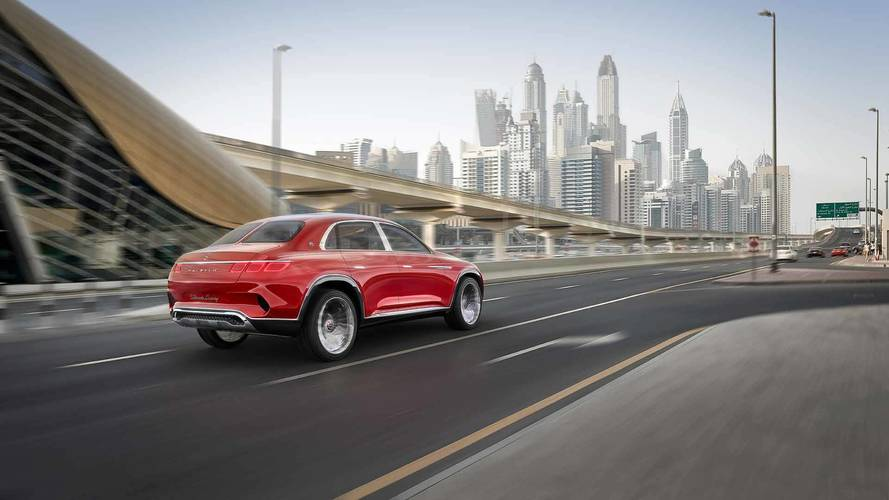Vision Mercedes-Maybach Ultimate Luxury Konsepti