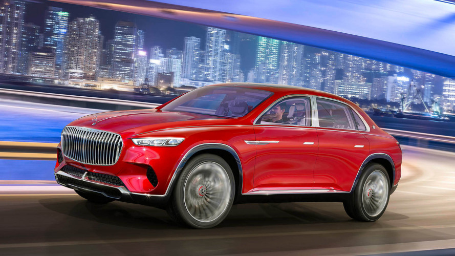 Maybach Ultimate Luxury Concept, le foto ufficiali
