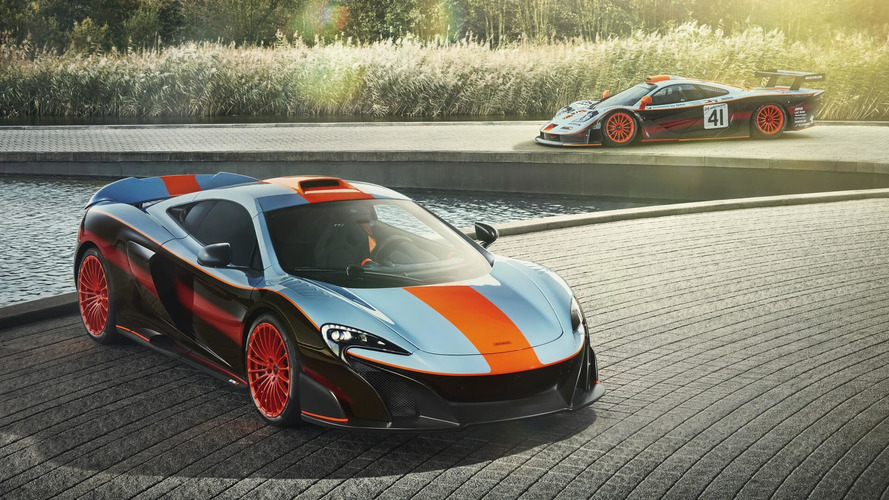 McLaren 675LT Gulf Racing - Incroyablement belle !