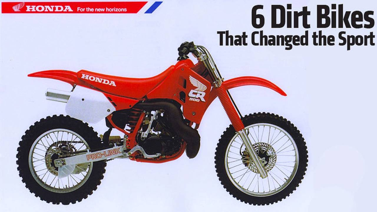 6 Dirt Bikes That Changed the Sport
