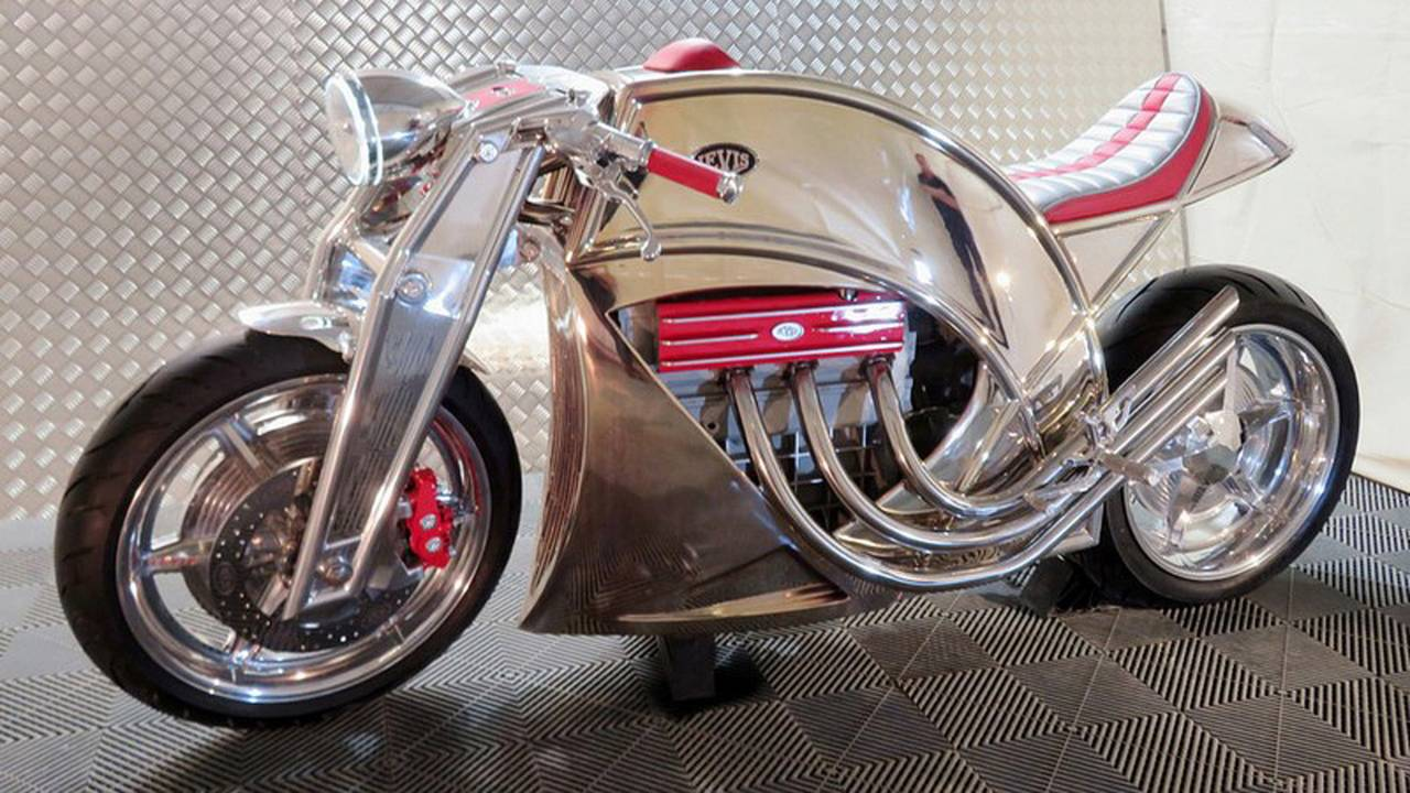LEAVING ON A JET PLANE: Insane Airplane Engine Motorcycle Concept