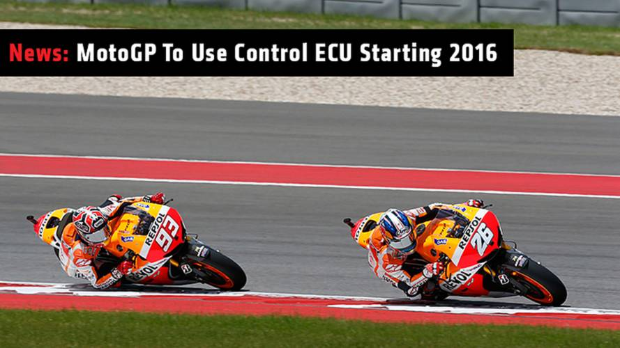 MotoGP To Use Control ECU Starting 2016