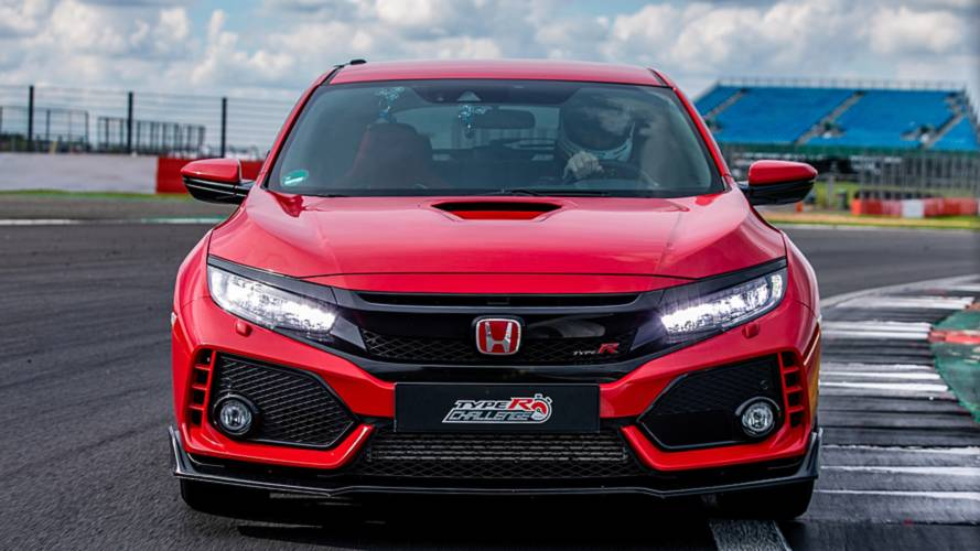 Honda Civic Type R récord Silverstone