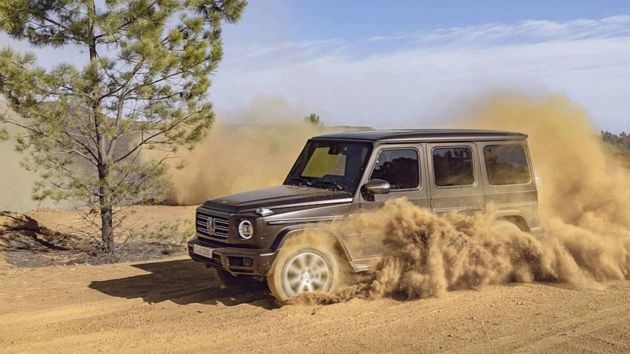 Mercedes-Benz nos explica cómo conducir el Clase G 2018 en el barro