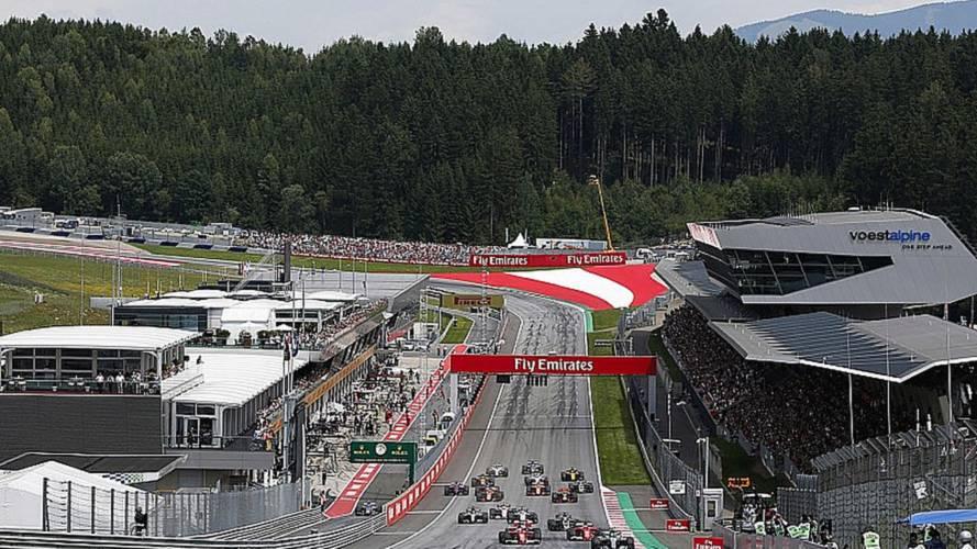 Los horarios de la F1 en Austria vuelven a la normalidad
