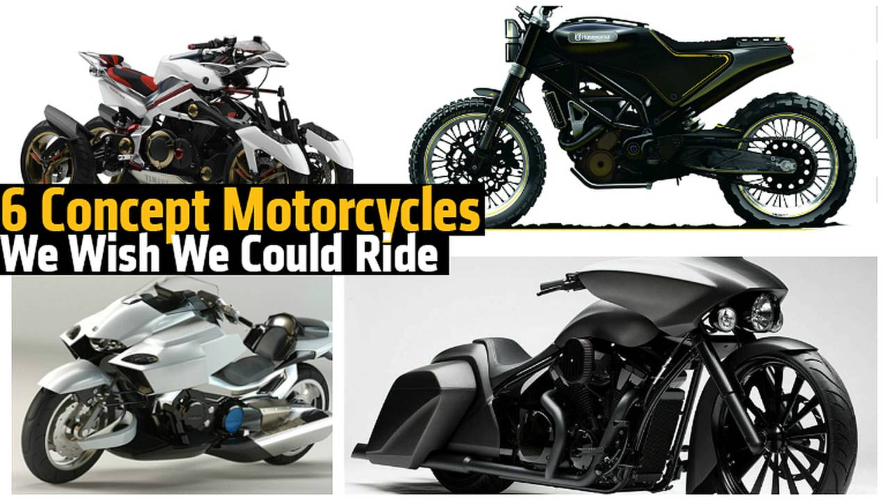 6 Concept Motorcycles We Wish We Could Ride