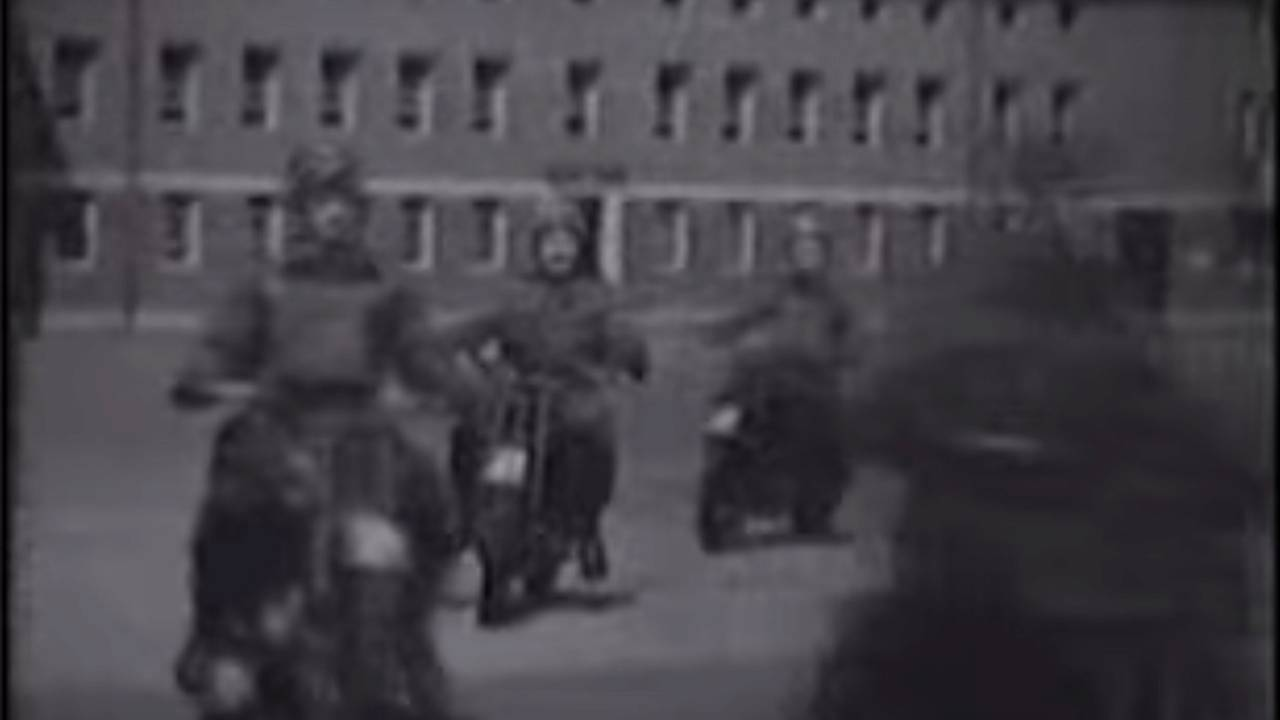 Film Vault: Canadian Dispatch Riders in WWII