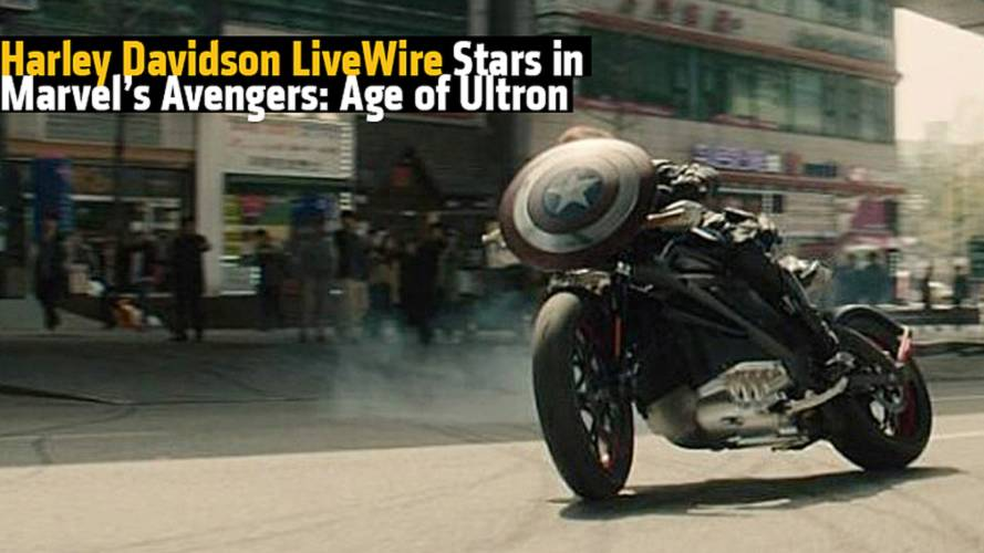 Harley Davidson LiveWire Stars in Marvel's Avengers: Age of Ultron