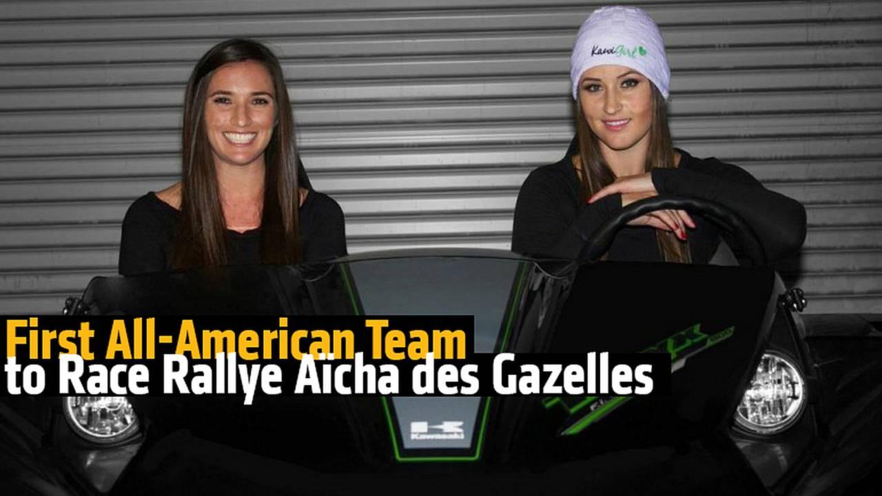 First All-American Team to Race Rallye Aïcha des Gazelles