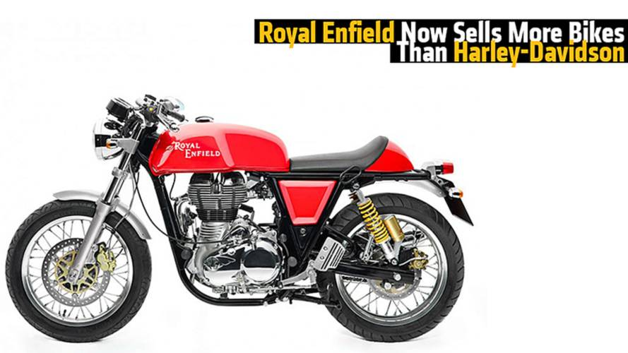 Royal Enfield Now Sells More Bikes Than Harley-Davidson