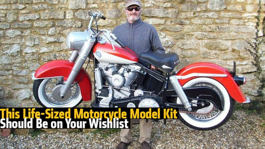 This Life-Sized Motorcycle Model Kit Should Be on Your Wishlist