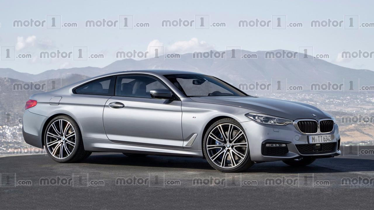 BMW Série 8 rendu