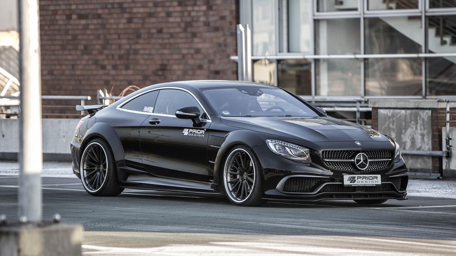 La Mercedes Classe S Coupé revue et corrigée par Prior Design