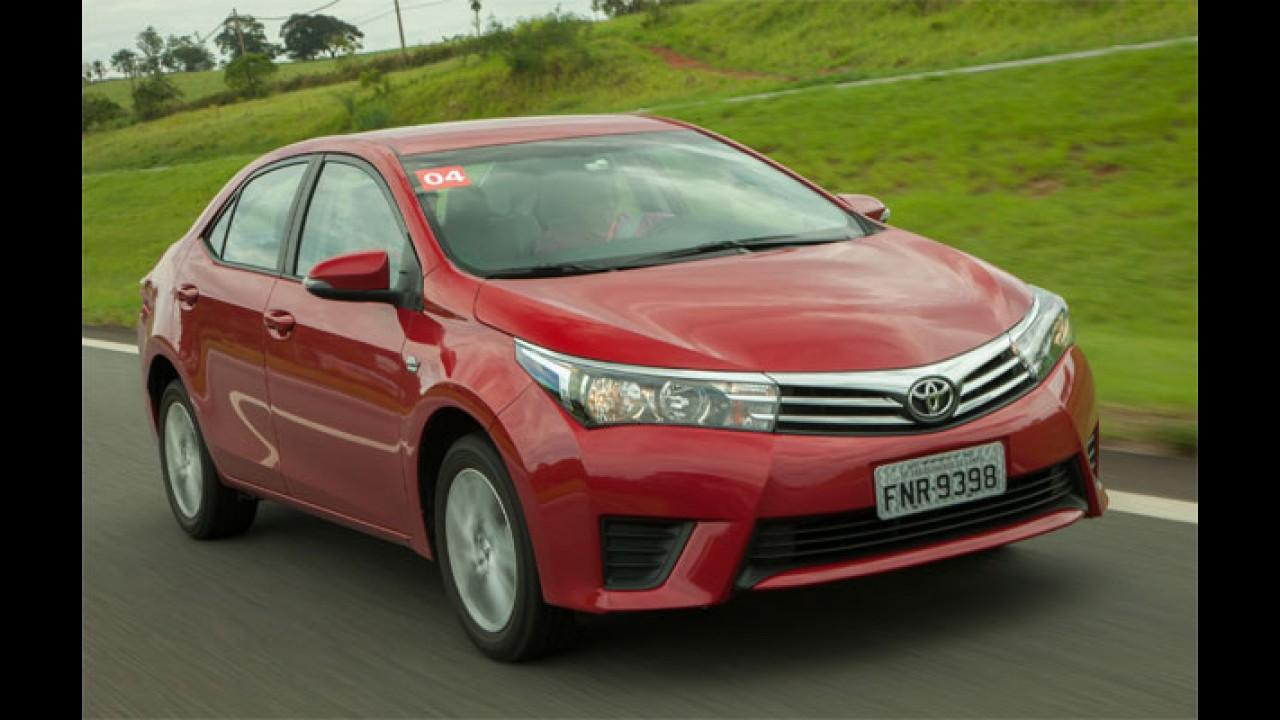Toyota é a marca com os clientes mais satisfeitos do Brasil, diz estudo