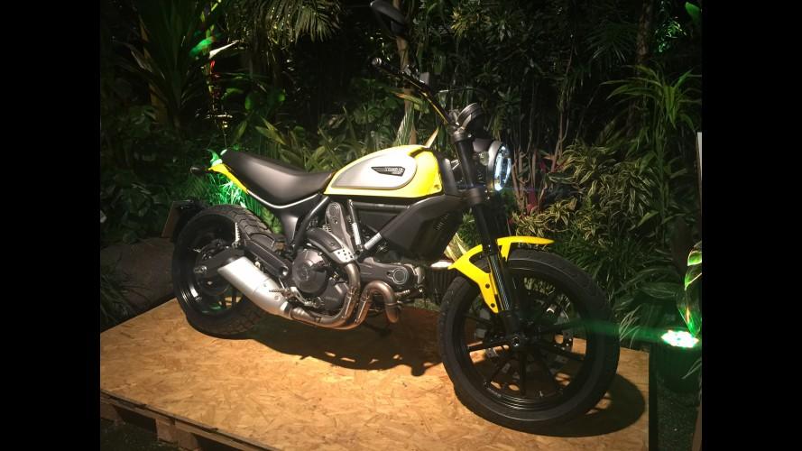 Ducati faz pré-estreia da nova Scrambler em São Paulo