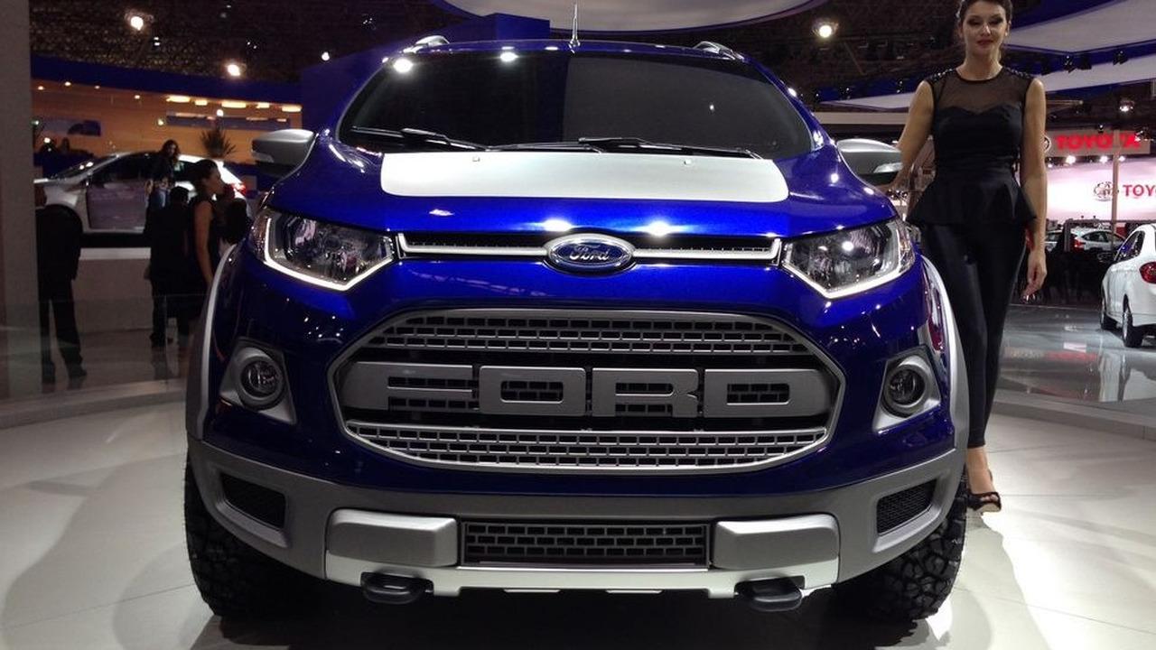 2014 Ford Ecosport Storm Concept Motor1 Com Photos