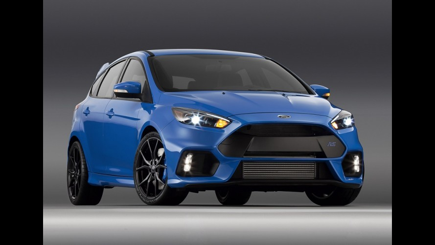 Vendas do Focus RS 'bombam' nos EUA e Ford cancela novos pedidos