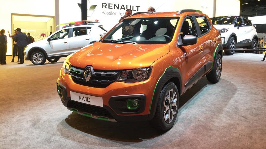 Renault Kwid nacional estreia em junho no Salão de Buenos Aires