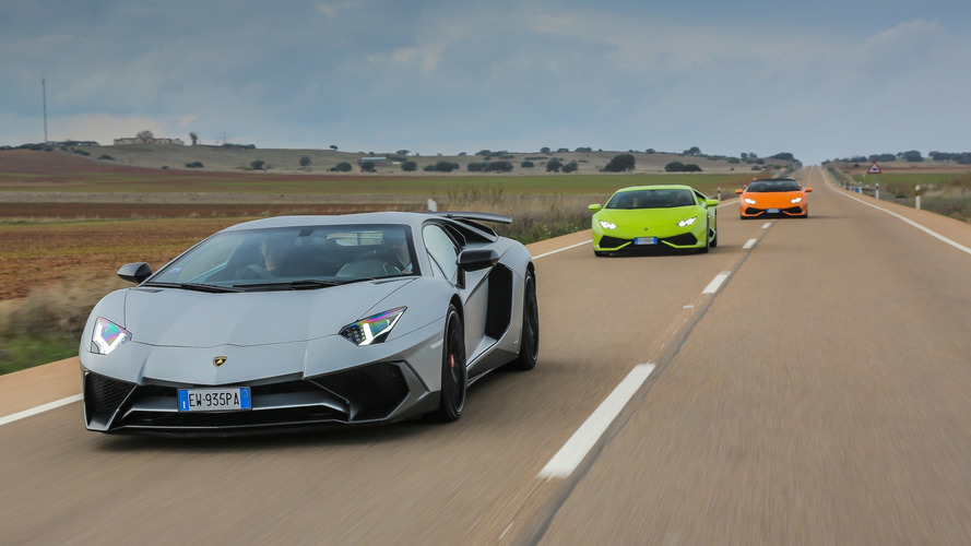 Lamborghini Miura 50'nci yaş kutlamaları
