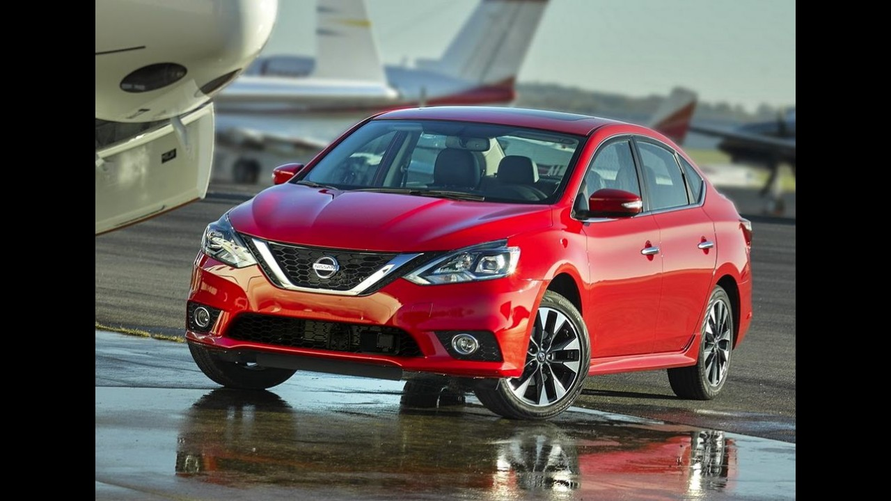 Novo Nissan Sentra 2016 estreia no Salão de Los Angeles - veja fotos