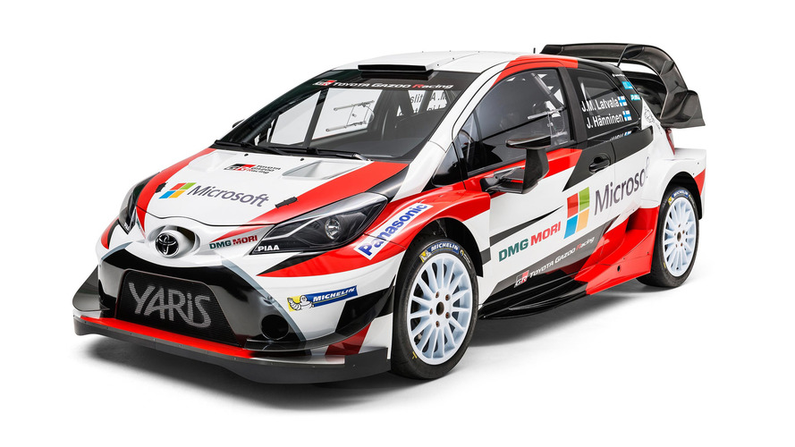 Toyota builds massive wing, attaches Yaris WRC to it