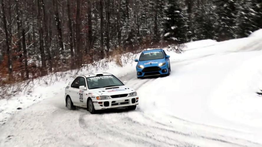 Ford Focus RS, Subaru ralli aracını yakalayabilecek mi?