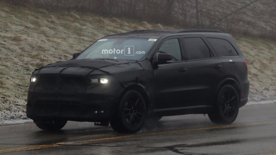 Dodge Durango Srt Spied Dressed Entirely In Black