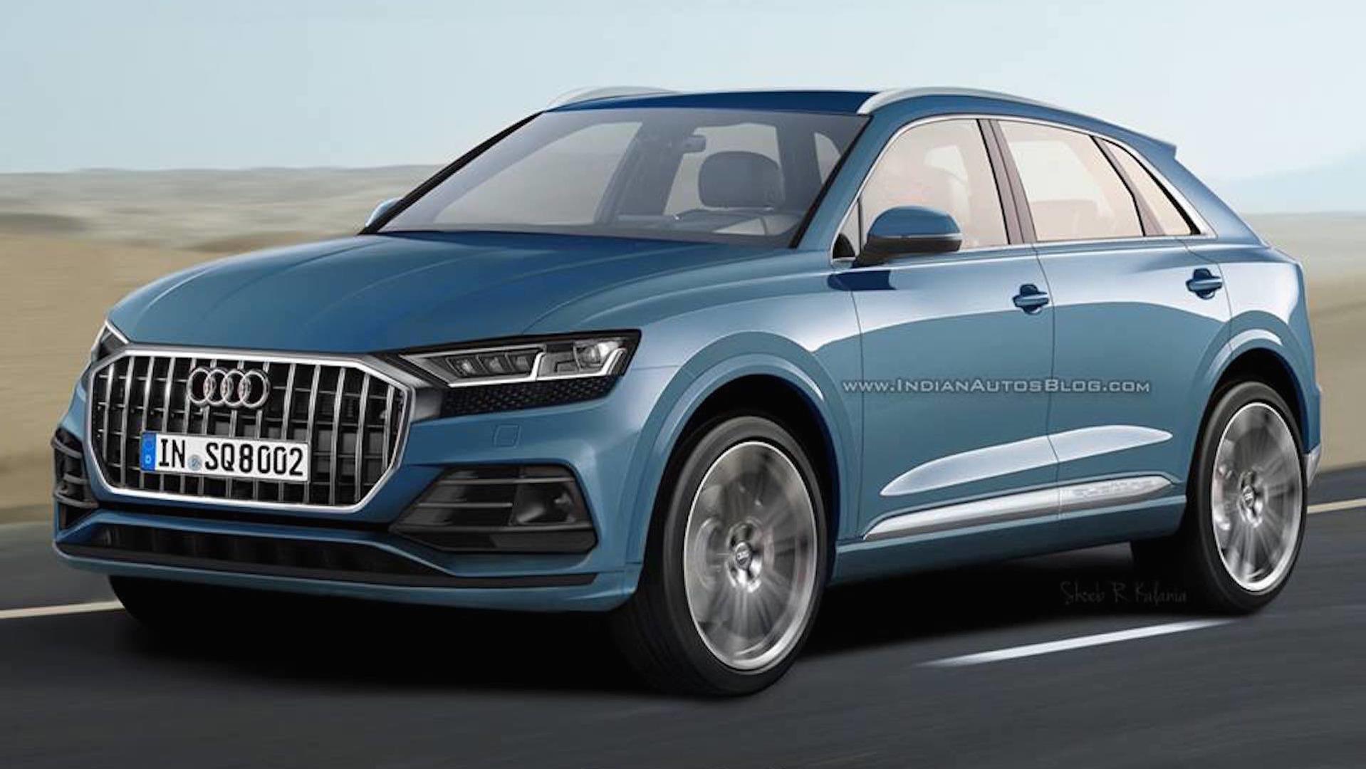 2019 Audi Q8 render looks promising