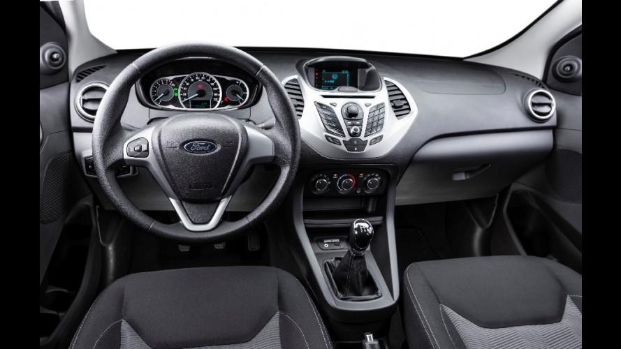Ford Ka deve ganhar sistema multimídia semelhante ao da Ranger