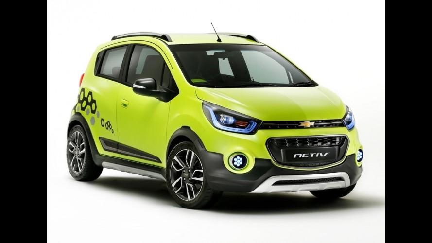 """Chevrolet pretende lançar """"aventureiro"""" Spark Activ nos EUA"""