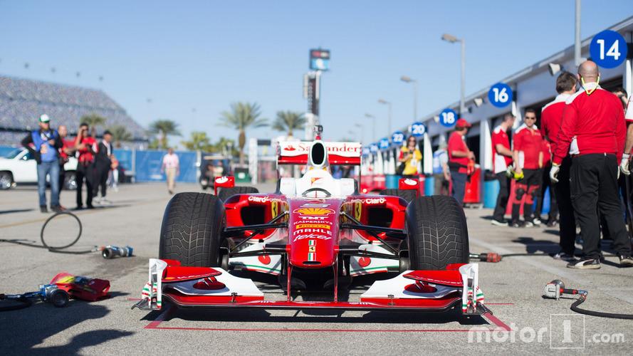 VIDÉOS - Découvrez les Formule 1 Ferrari en action à Daytona