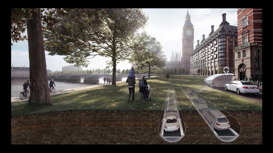 CarTube - Une nouvelle façon d'envisager la ville du futur ?