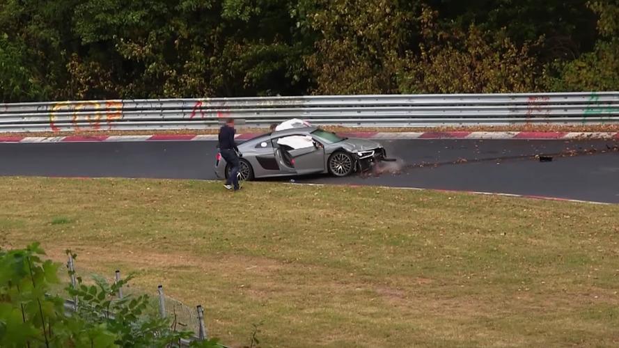Nürburgring yıl sonu kaza derlemesi