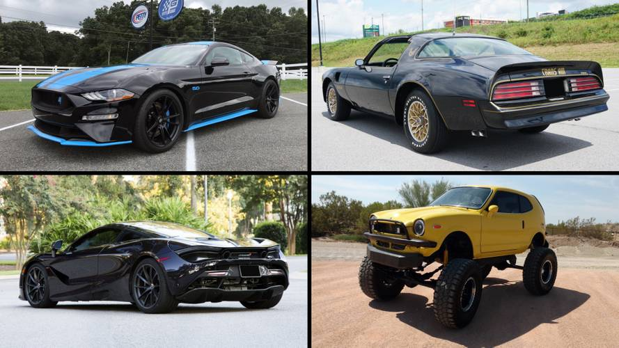 10 Crazy Cool Cars From Barrett-Jackson's Sin City Auto Auction