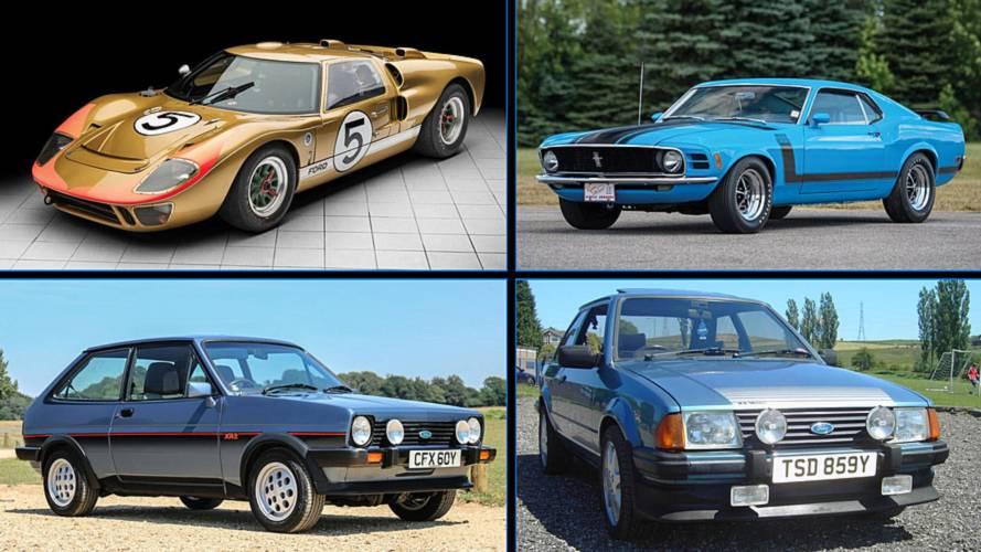 5 Ford clásicos (y deportivos) que se subastarán este verano