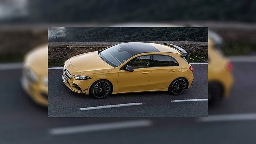 Mercedes-AMG A35 4Matic Leaked Images