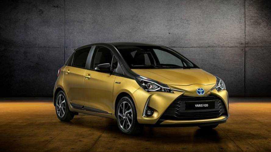 Toyota Yaris Y20 Edition da Paris'te sergilenecek