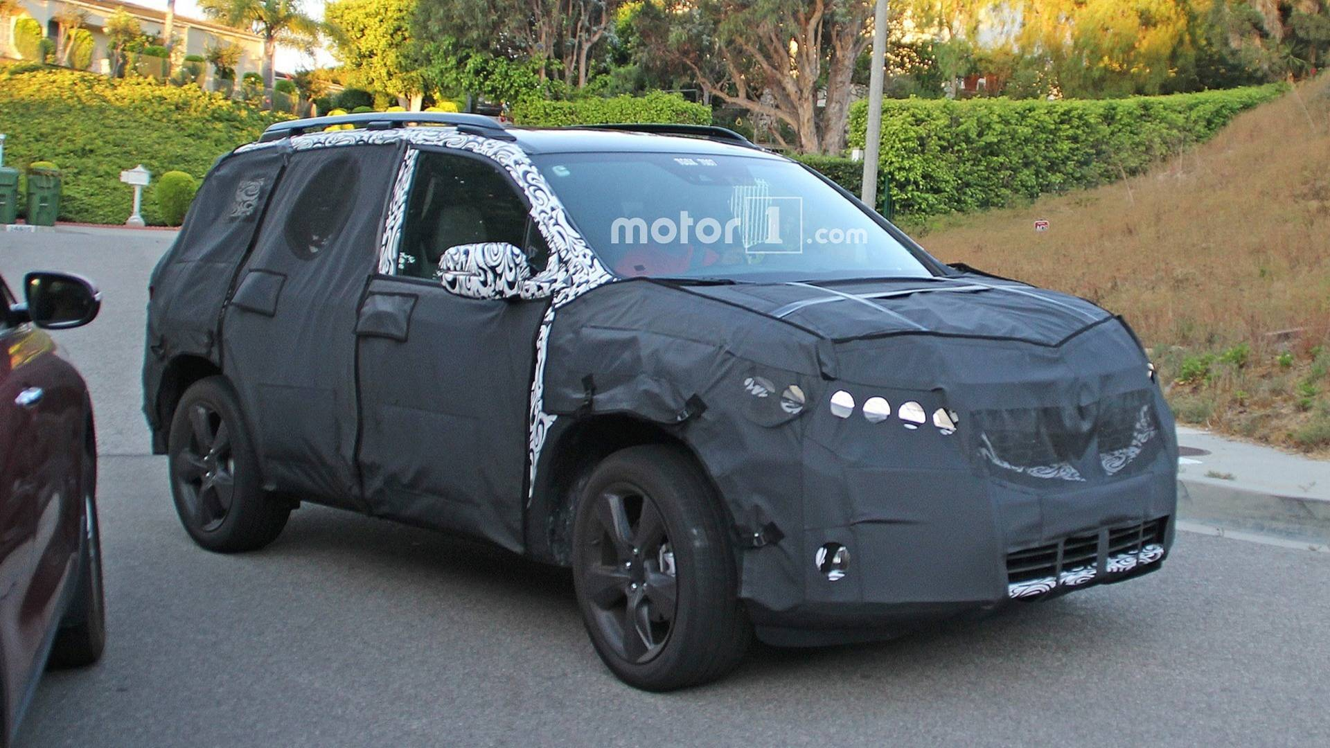 New Honda Suv >> First Look New Honda Passport Suv Spied Inside And Out