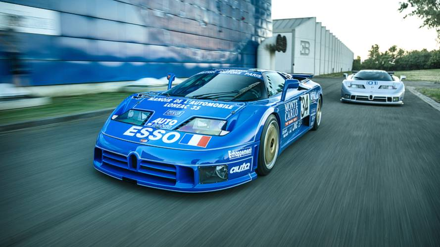 See What's Special About Bugatti's Last Two Race Cars