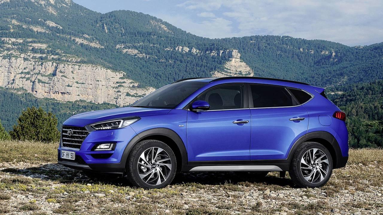 Hyundai Tucson restyling - settembre