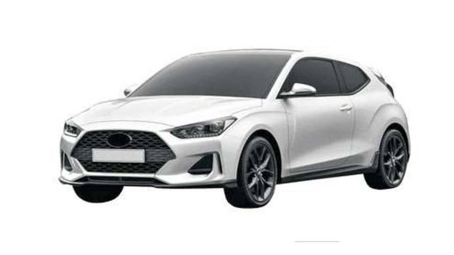 Registro de patentes - Hyundai Veloster 2019