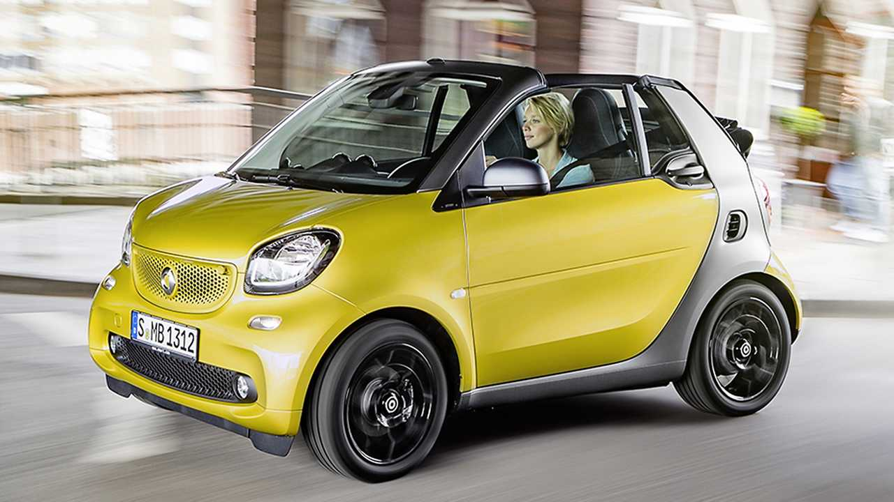 Smart Fortwo 0.9 turbo Cabrio (66 kW): 38,7 Cent/km