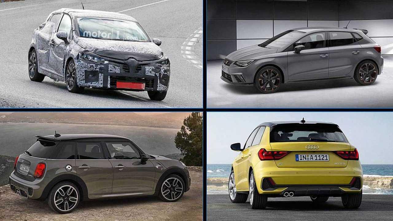 Neue Kleinwagen 2018, 2019 Collage