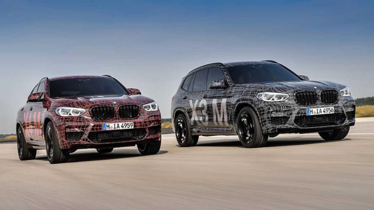 BMW X3 M y X4 M 2019: fotos espía oficiales