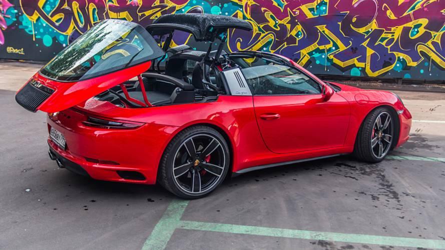 Продолжение классического хита : Porsche 911 Targa