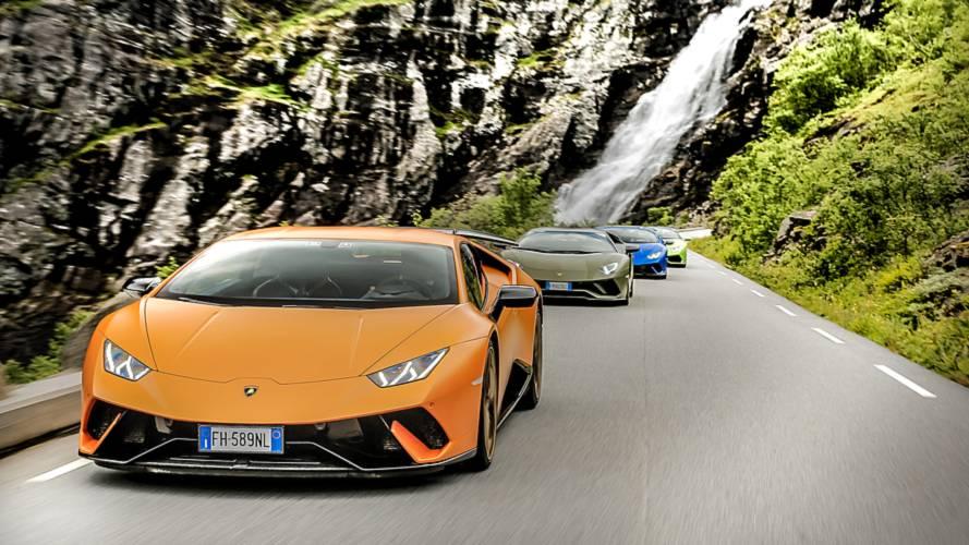 Im Lamborghini zu den Traumstraßen Norwegens