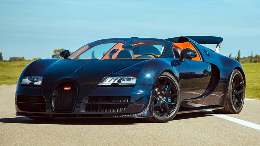 Two Rare Bugatti Veyrons Come Up For Sale